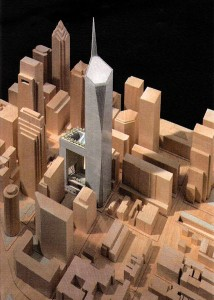 An arttist rendering of American Commerce Center
