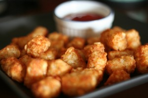 Tot's are so hot right now.